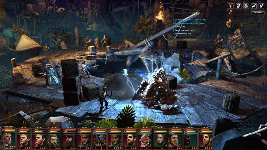 Blackguards 2 Top 20 Best PC RPGs of 2015