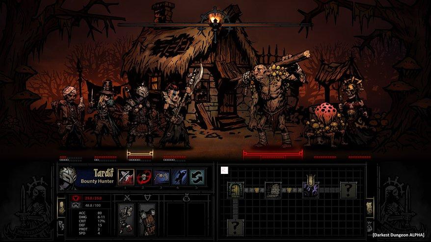 Darkest Dungeon Top 20 Best PC RPGs of 2015