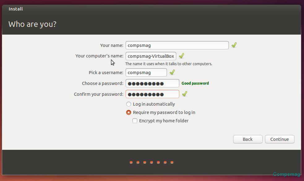 machine for ubuntu