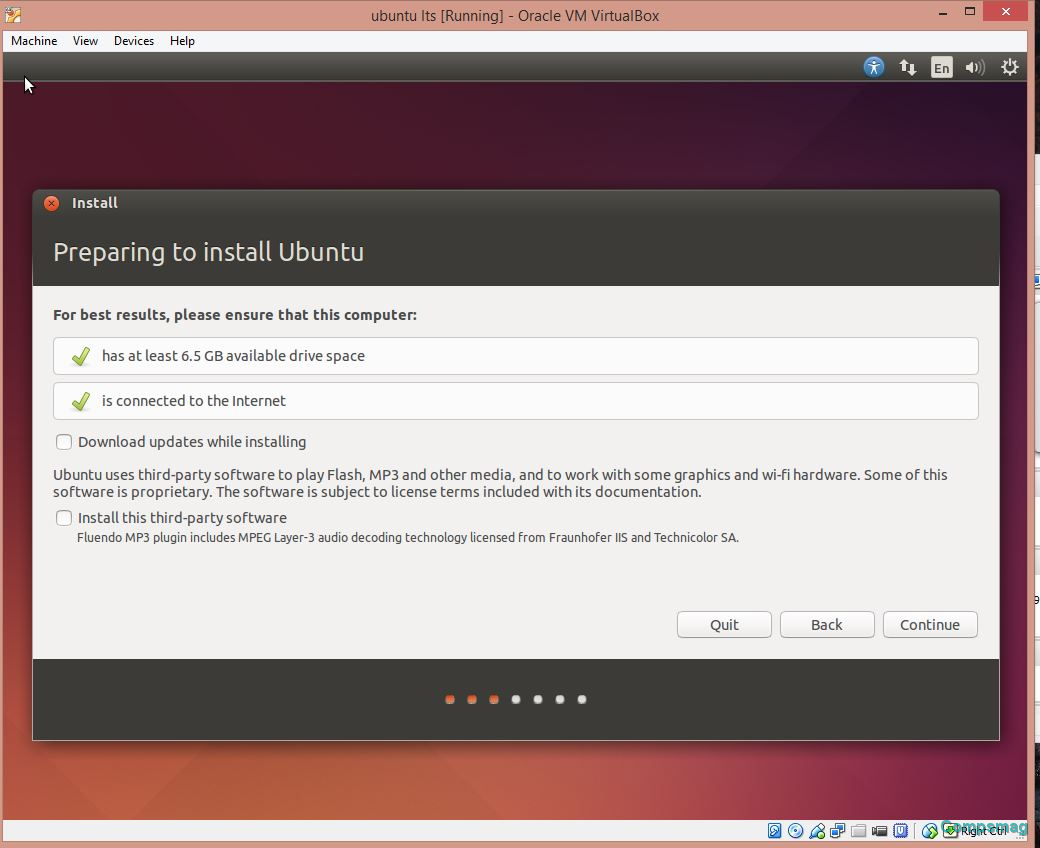 ubuntu machine